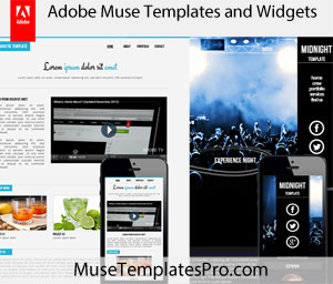 free adobe muse templates themes and widgets